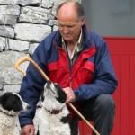 Der Hirt mit seinem Hund