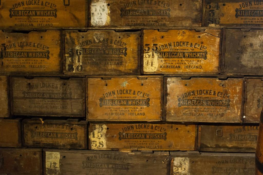 Alte Whisky Kisten