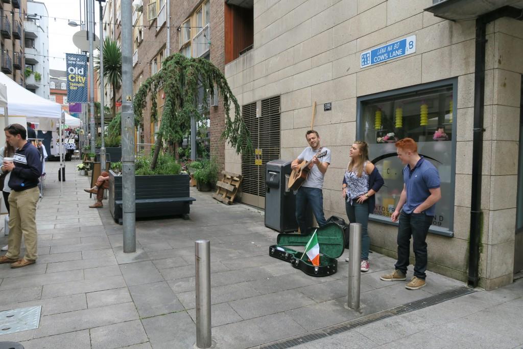 Strassenmusikanten dürfen nich fehlen