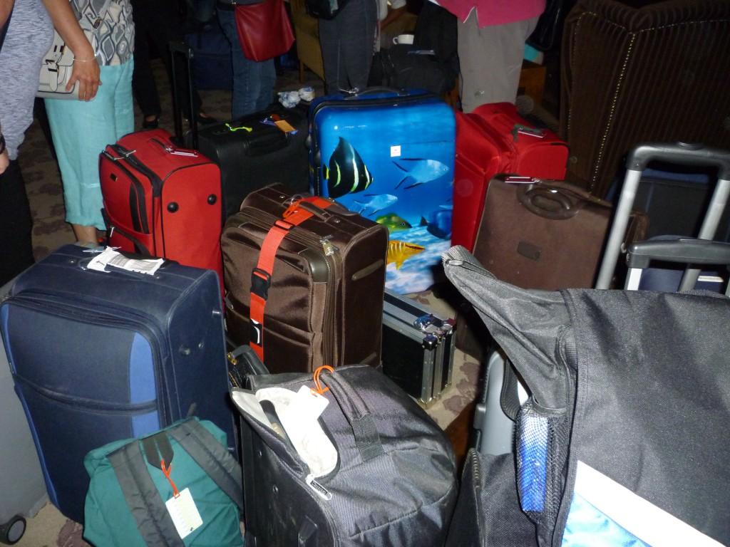 Die Koffer sind gepackt