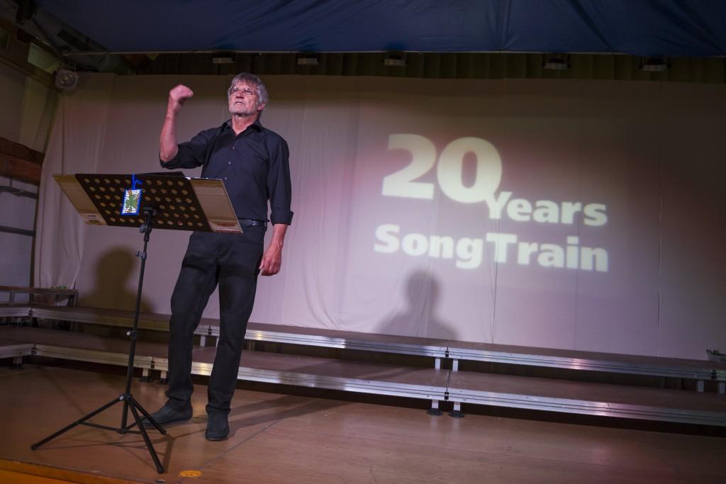 20 Years SongTrain Konzerteröffnung Peter Orlando