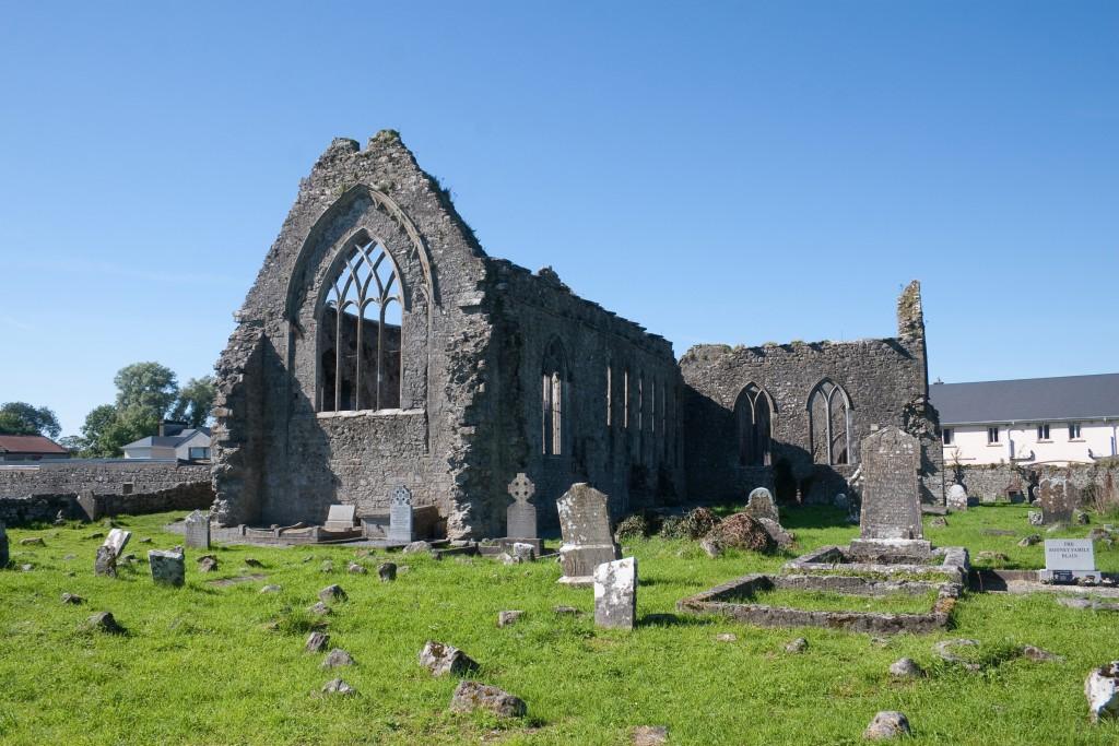 Domenican Priory Athenry (bei schönem Wetter)