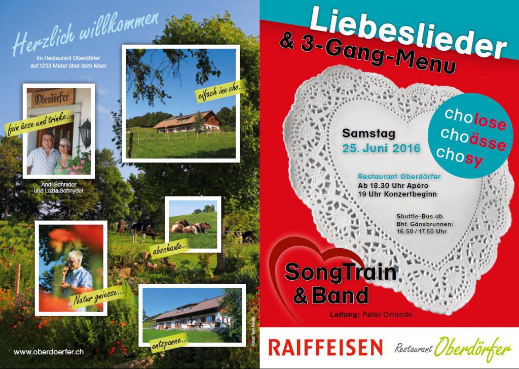 """Flyer 2016 """"Lieberslieder"""" Oberdörferberg"""