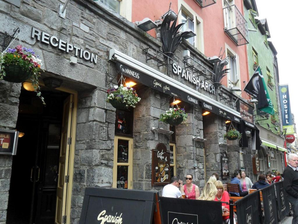Ein Pub in Galway