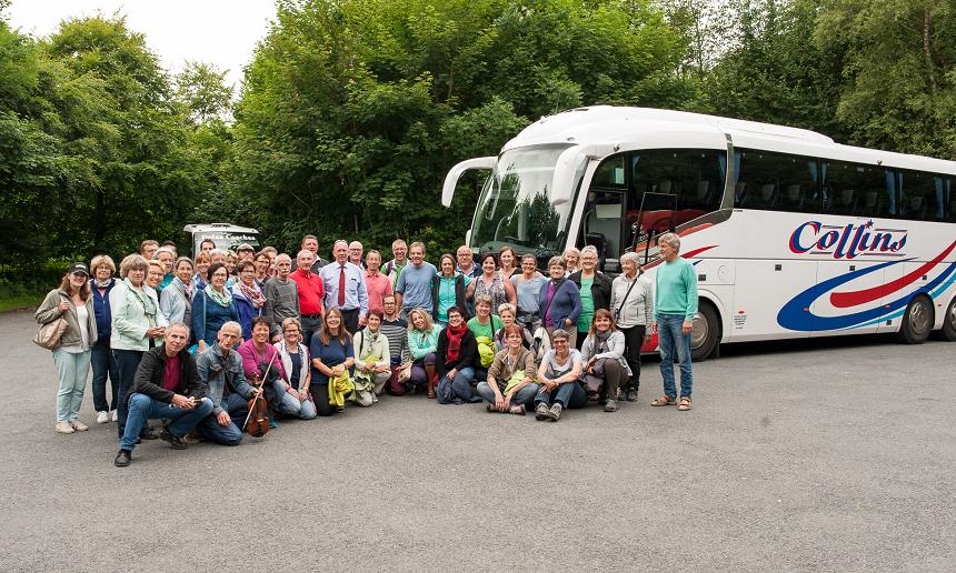 Gruppenbild Irland Konzert-Tournee 2015