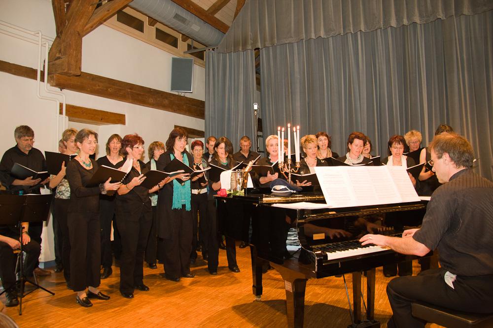 2008 Chor un Begleitung