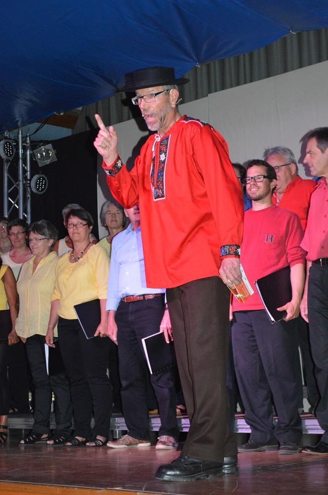 """2014 """"Lieder-Chansons-Canzoni-Chanzuns"""", Bänz der Anager"""