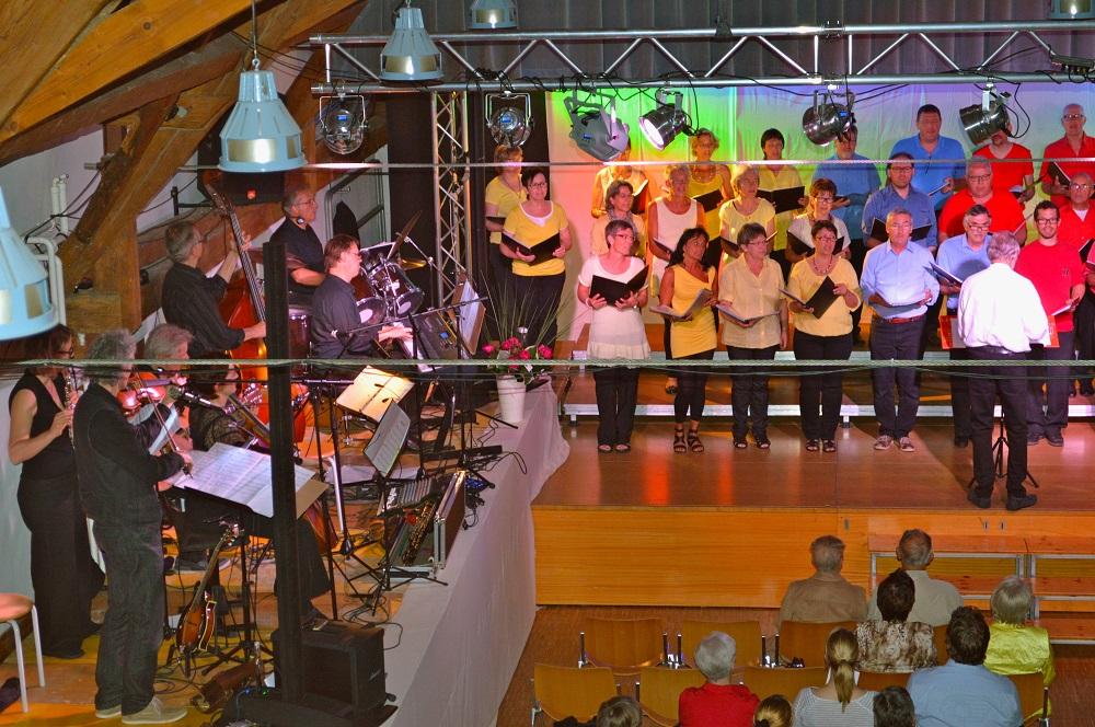"2014 ""Lieder-Chansons-Canzoni-Chanzuns"", Chor & Band"