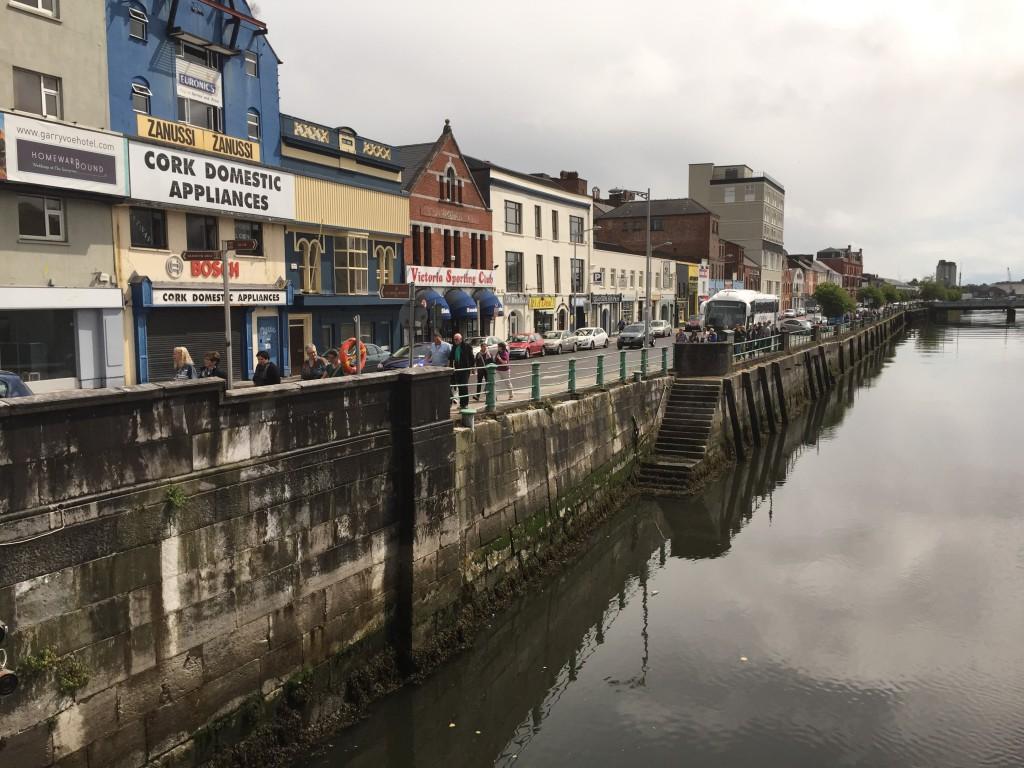Ankunft in Cork