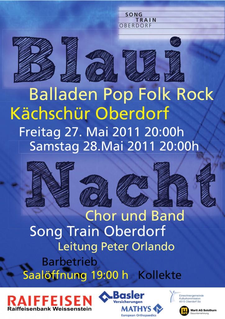 SongTrain Plakat 2011