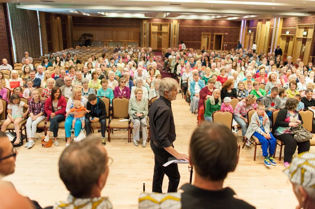 Ein grosses Publikum für unser Konzert