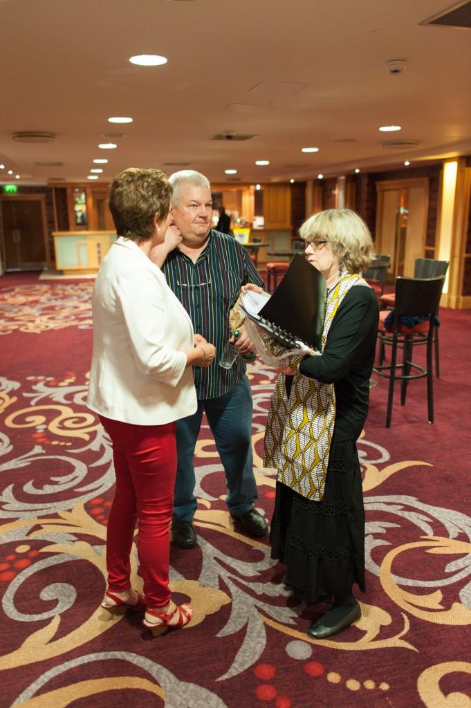 Kate Mühlethaler im Gespräch mit Aislyn Murphy und Pat Dillon