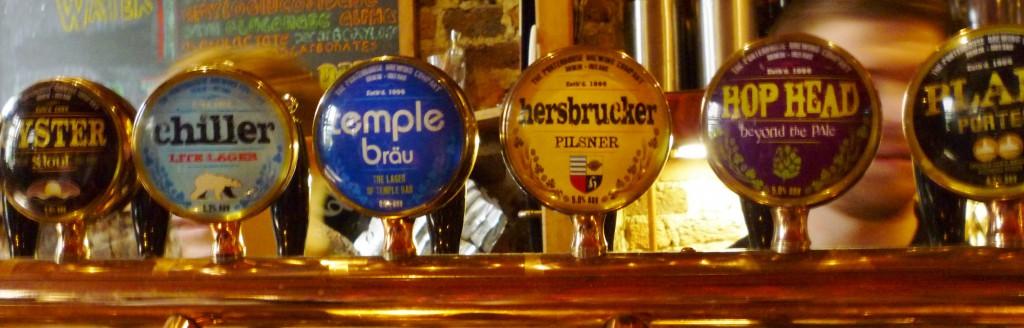 Die Wahle der Qual beim Bier