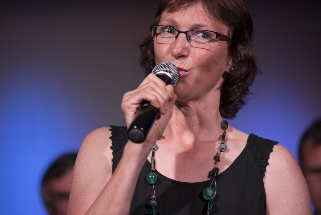20 Years SongTrain Lisa Kölliker, admin. Leiterin
