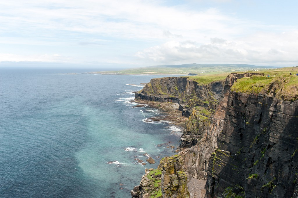 Die Cliffs of Moher Richtung Doolin