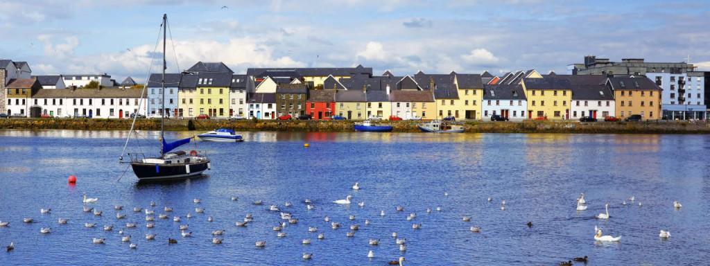 Galway vom Meer aus