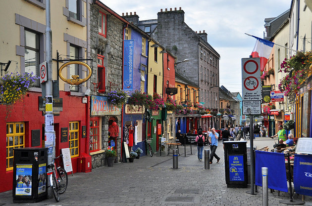 Shoppen in Galway