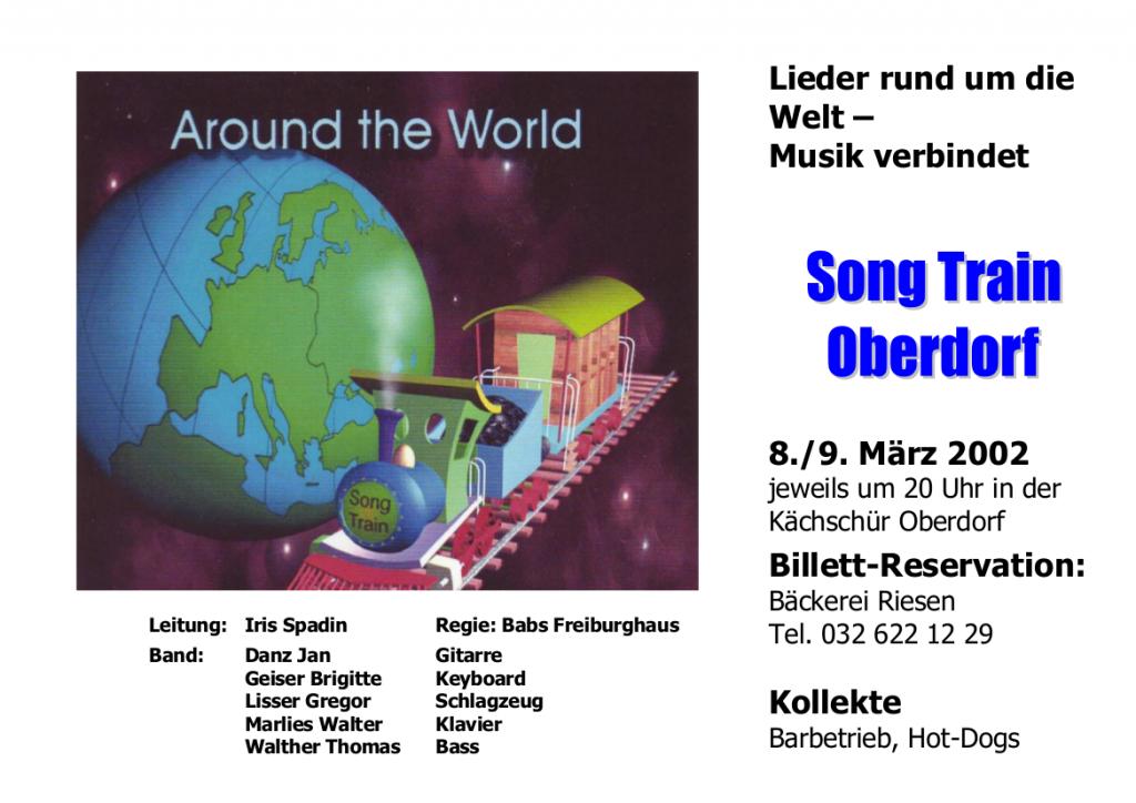 Plakat 2002 Arround the World