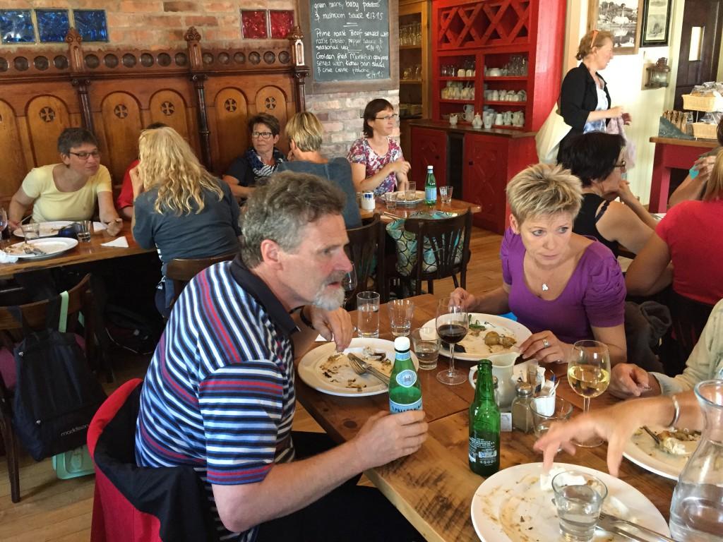Mittagessen in Crosshaven