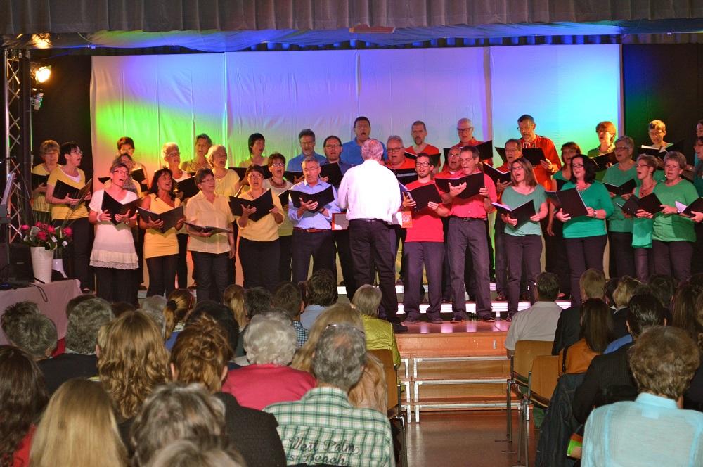 """2014 """"Lieder-Chansons-Canzoni-Chanzuns"""", Gesamtchor"""